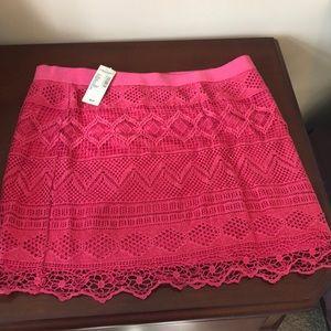 Pink American eagle skirt